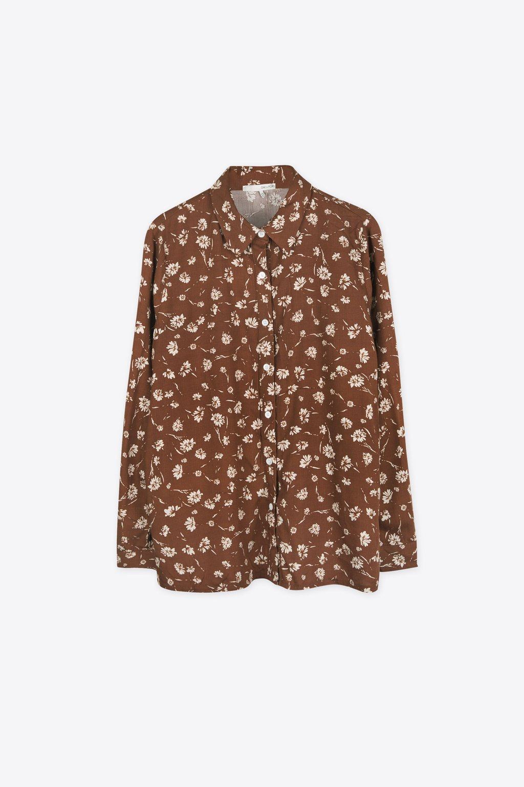 Blouse H261 Brown 5