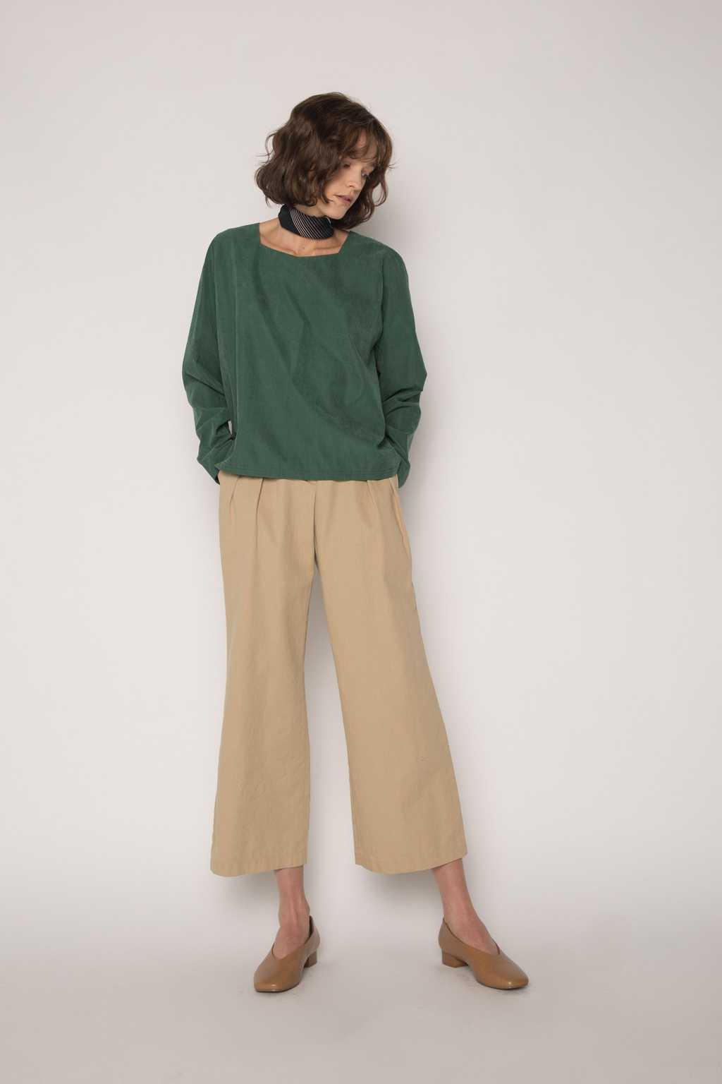 Blouse H277 Green 3