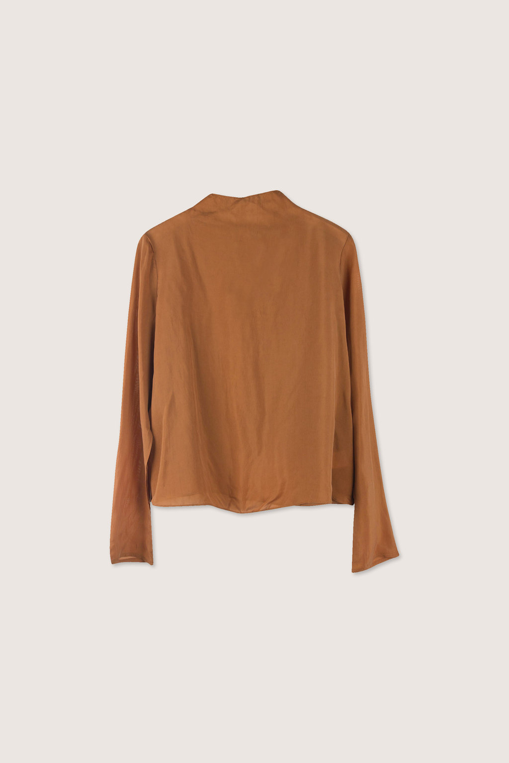 Blouse H302 Brown 6