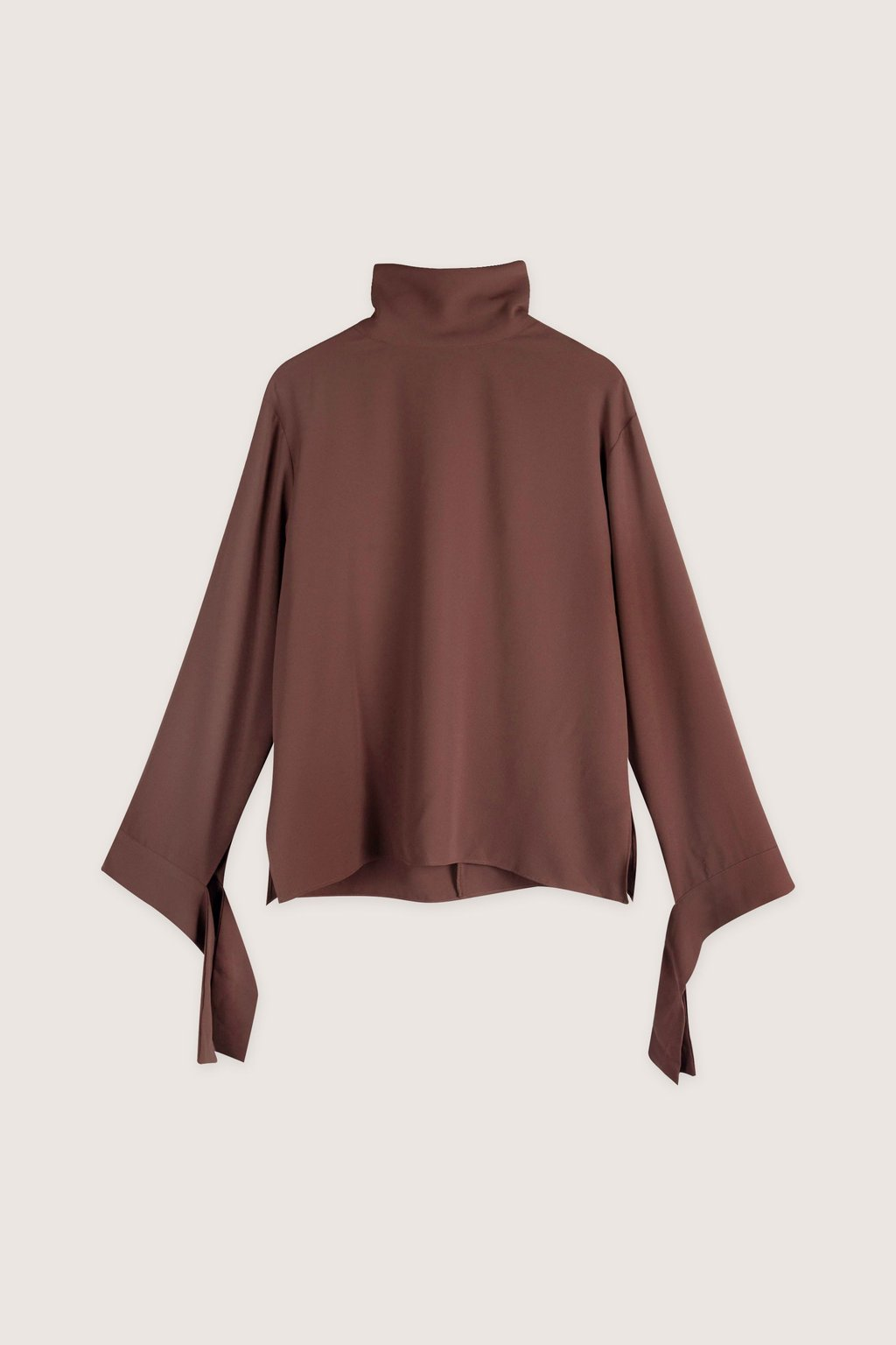 Blouse H323 Brown 7