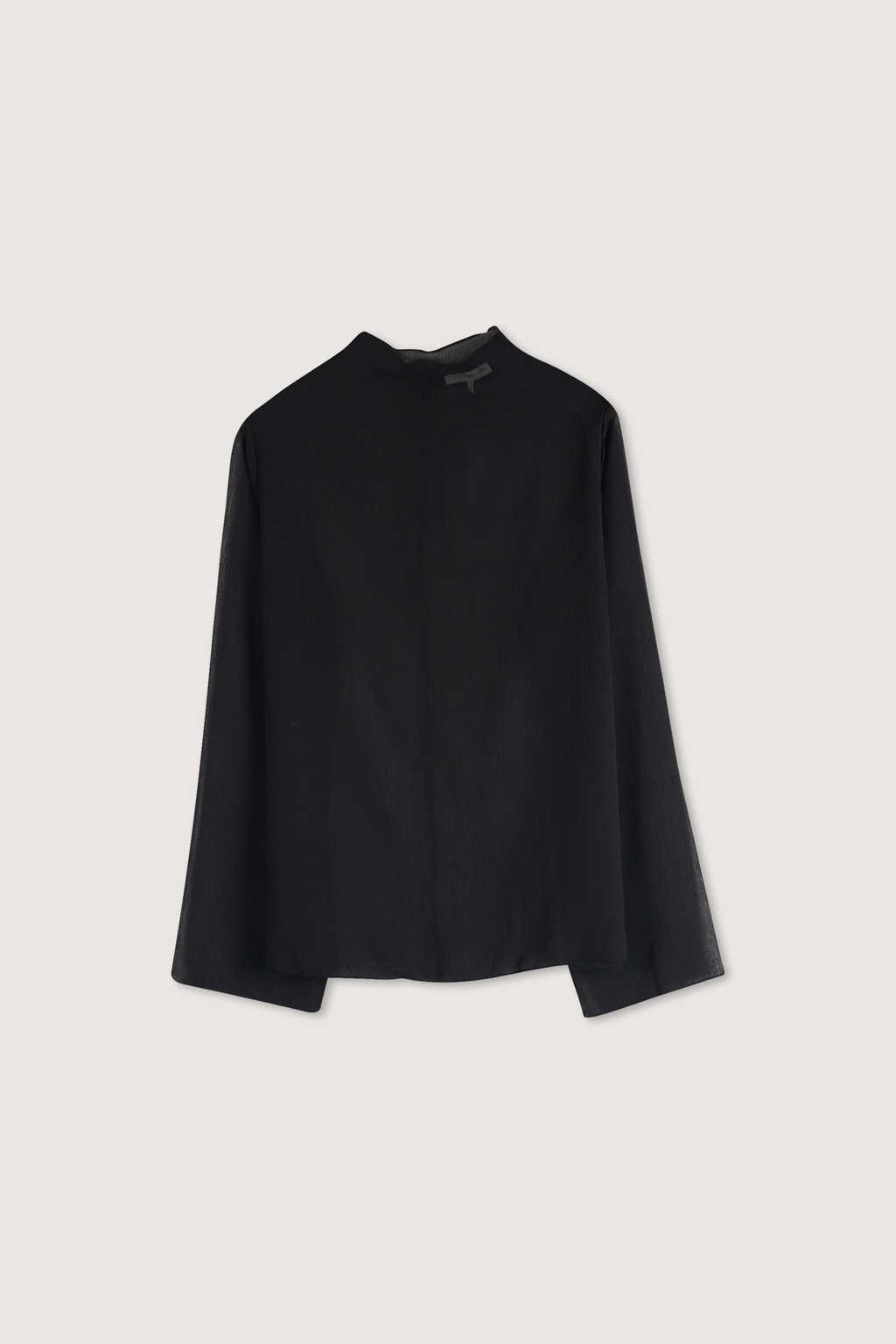 Blouse H332 Black 5