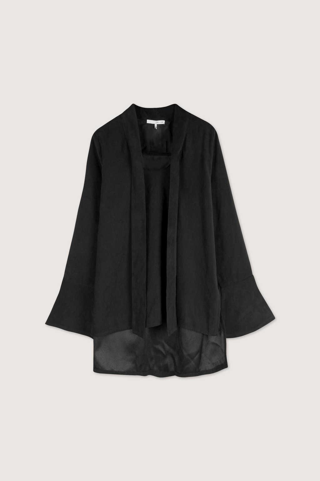 Blouse H355 Black 10