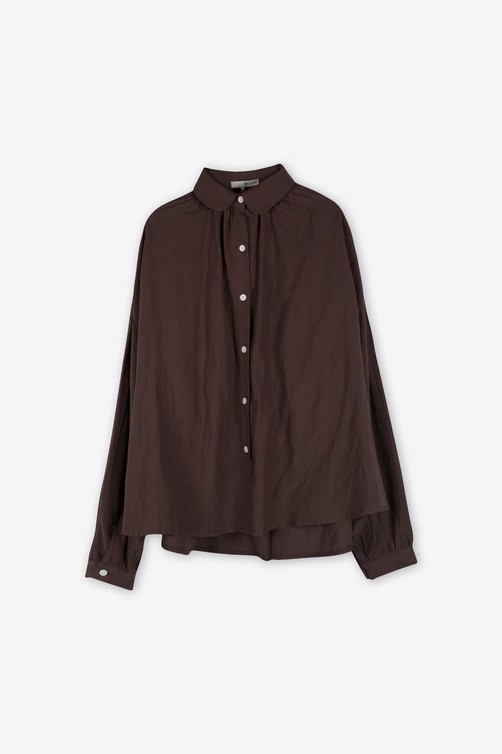 Blouse H385 Brown 5