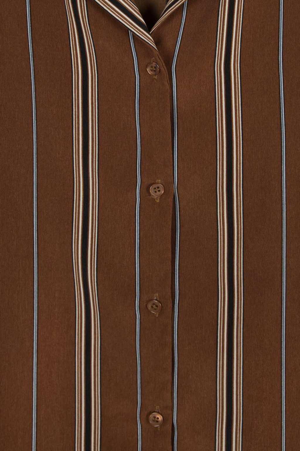 Blouse H387 Brown 6