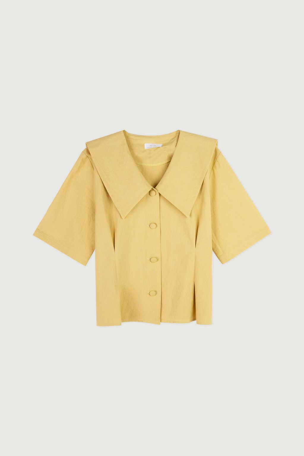 Blouse K006 Mustard 5