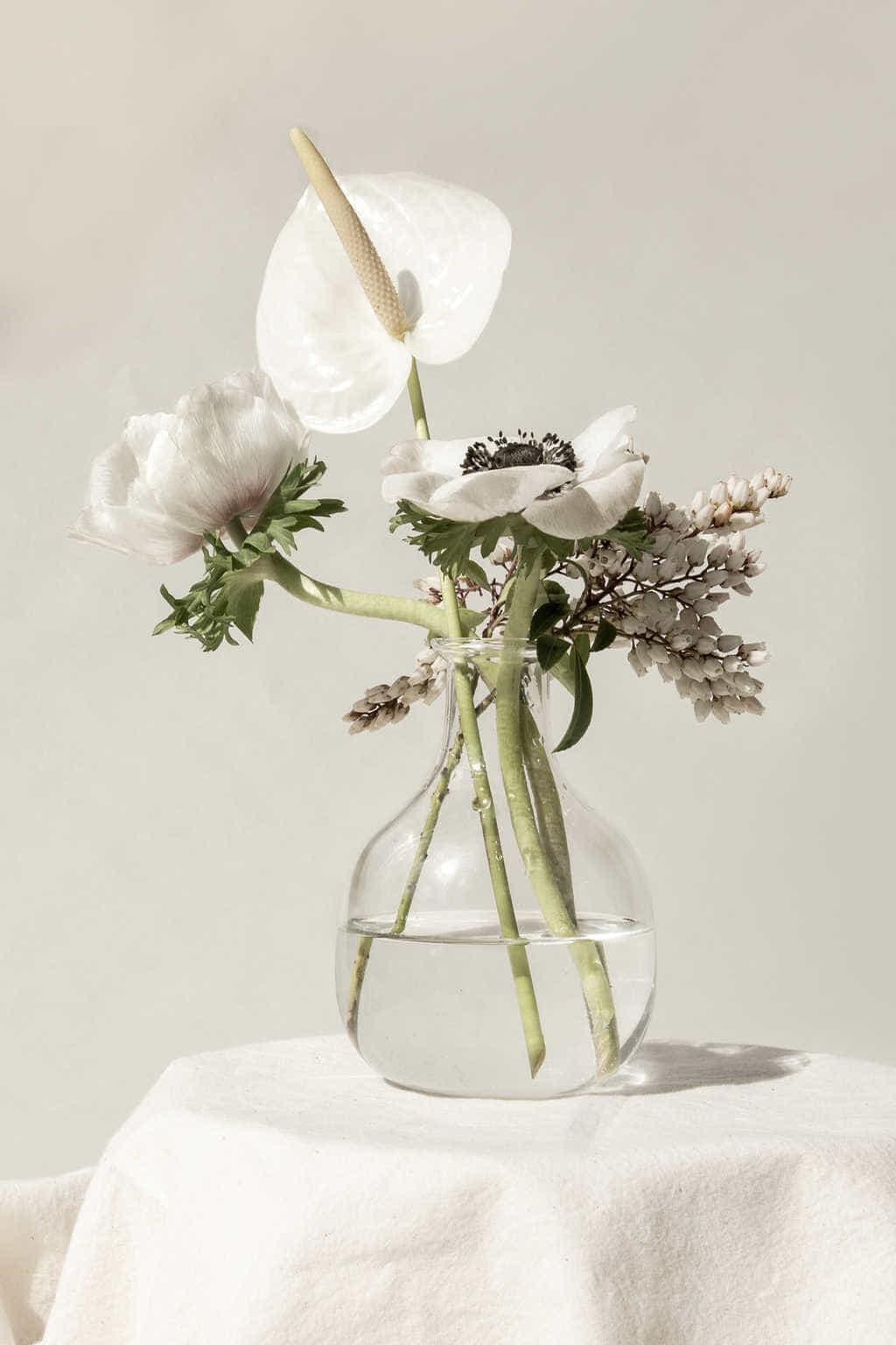 Bottle Vase 3381 Clear 2