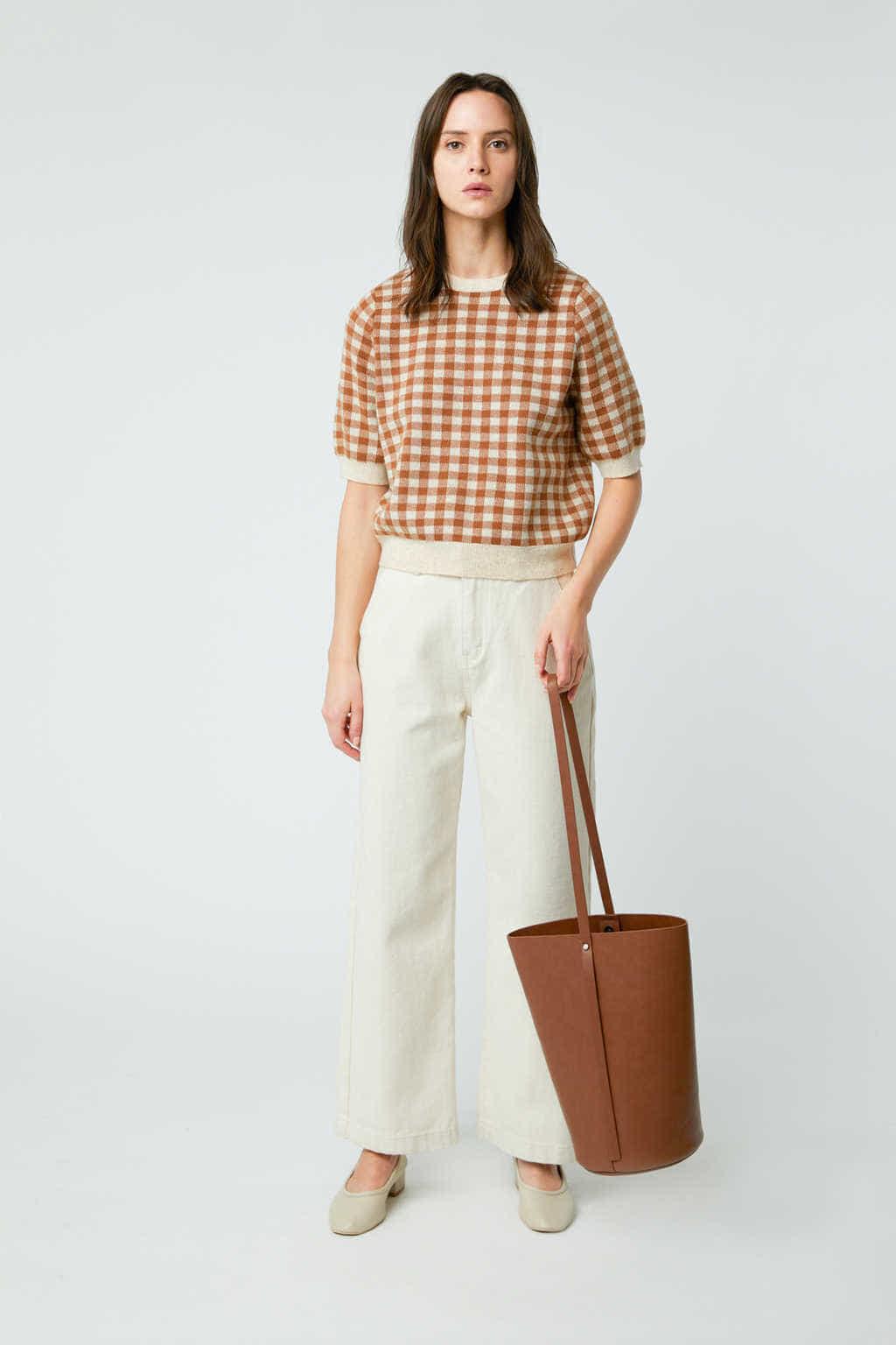 Bucket Bag 3350 Brown 7