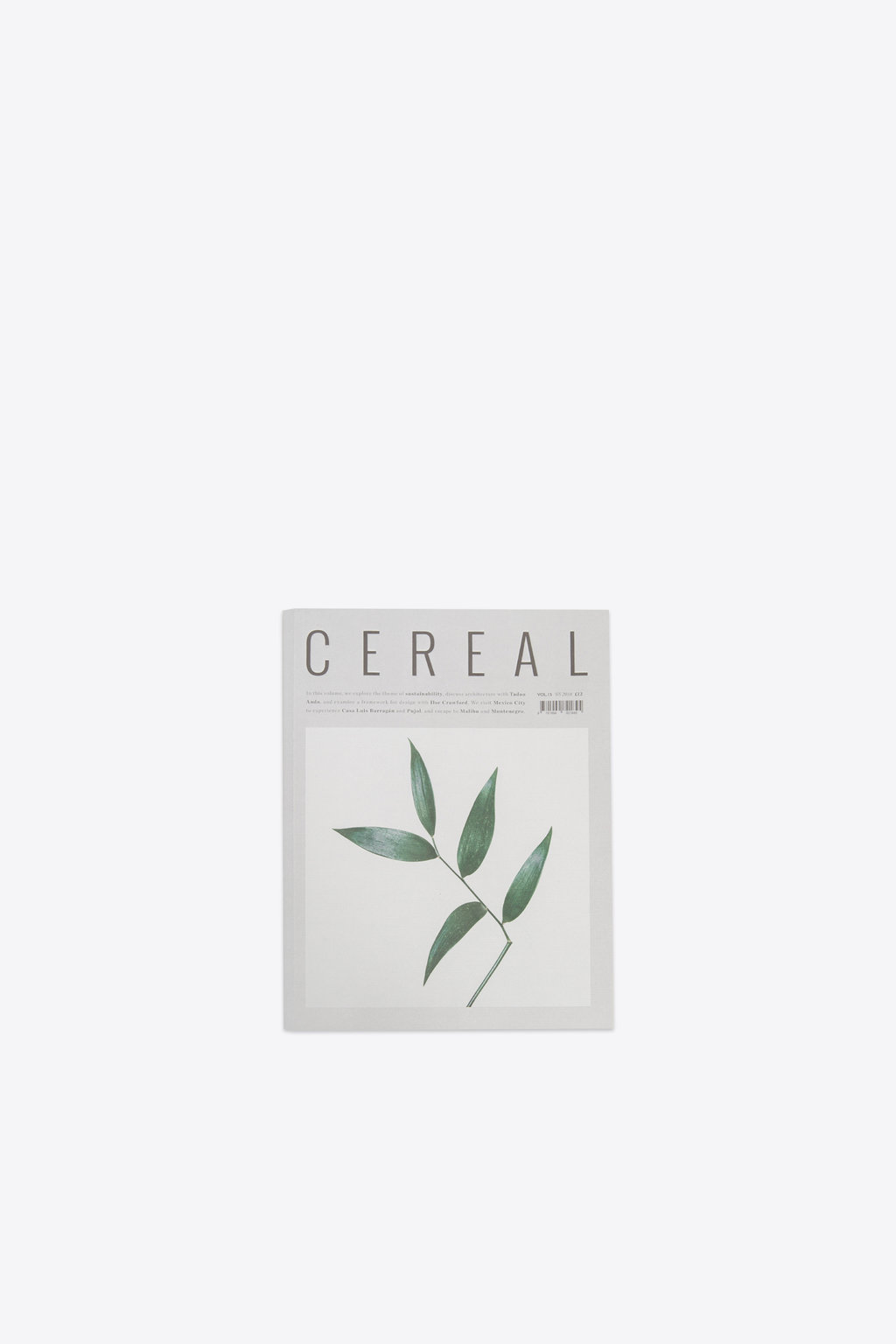 Cereal Magazine Volume 15 White 2