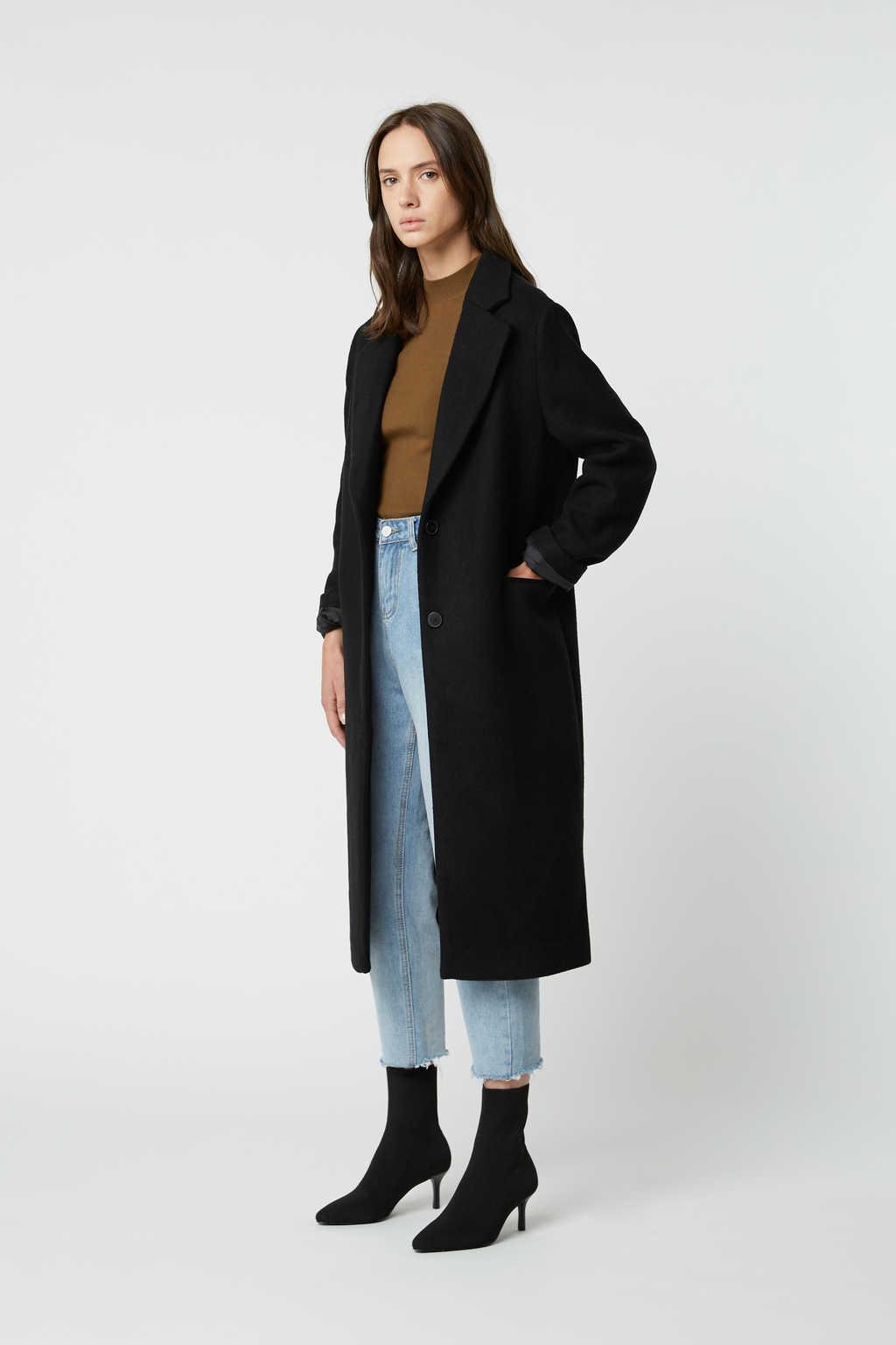 Coat 2495 Black 2
