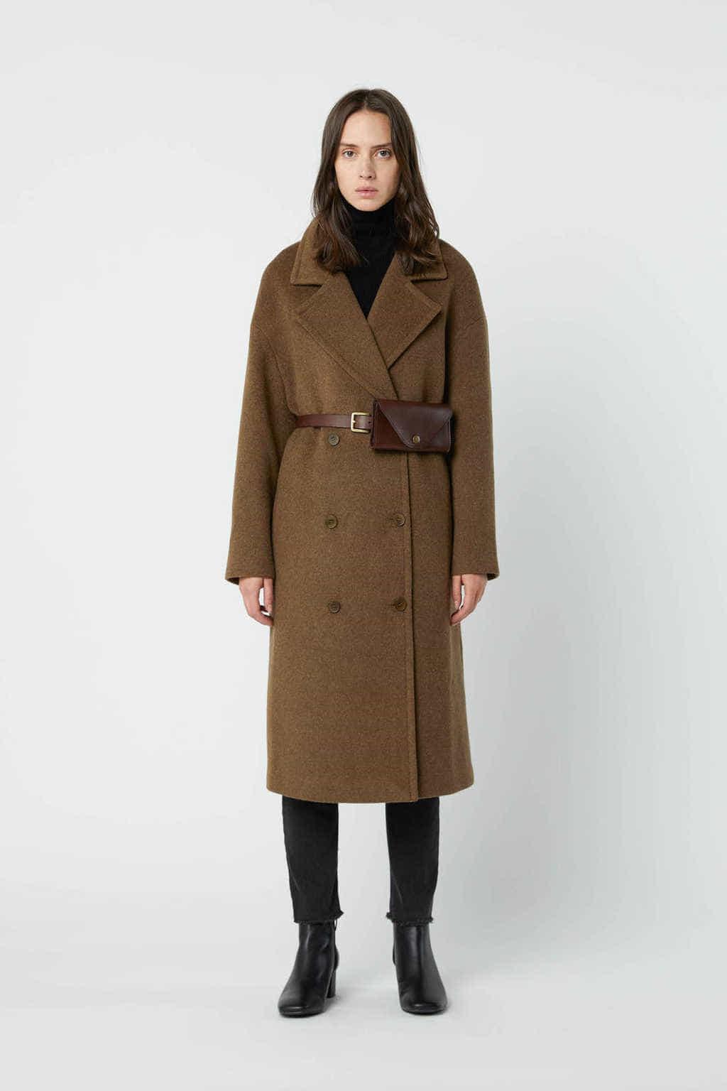 Coat 2616 Brown 1