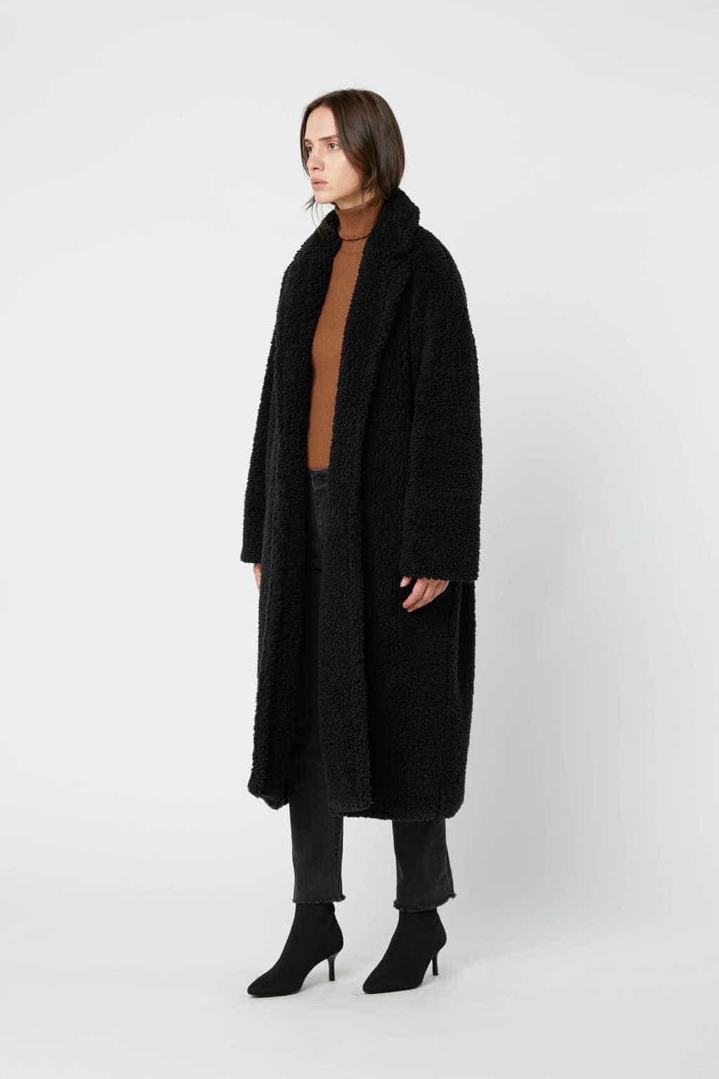 Coat 2694 Black 9