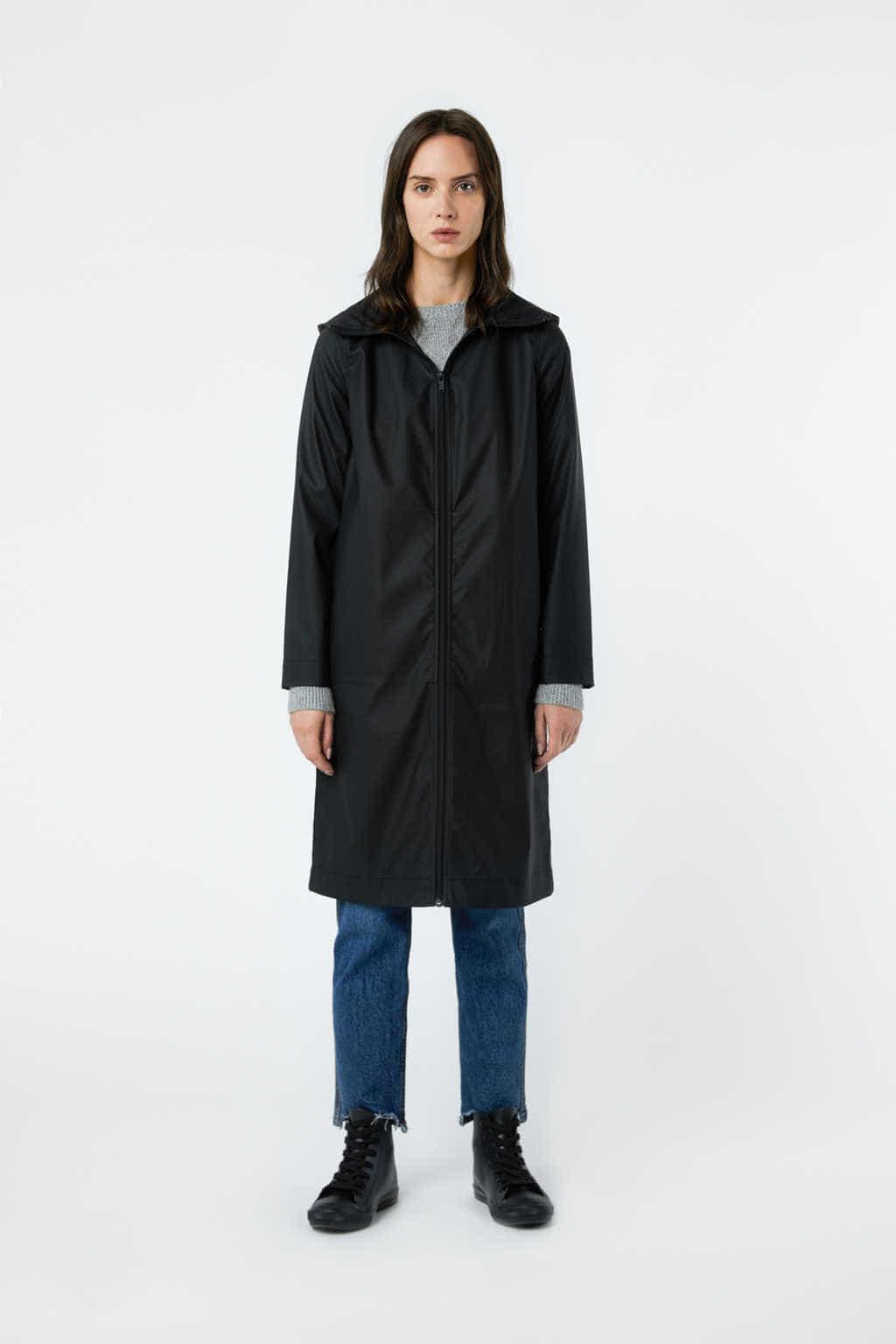 Coat 2953 Black 14