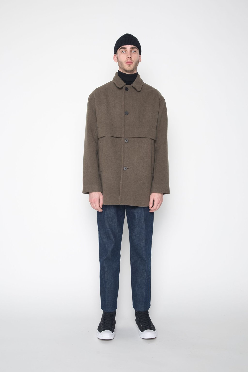 Coat 4134 Olive 1