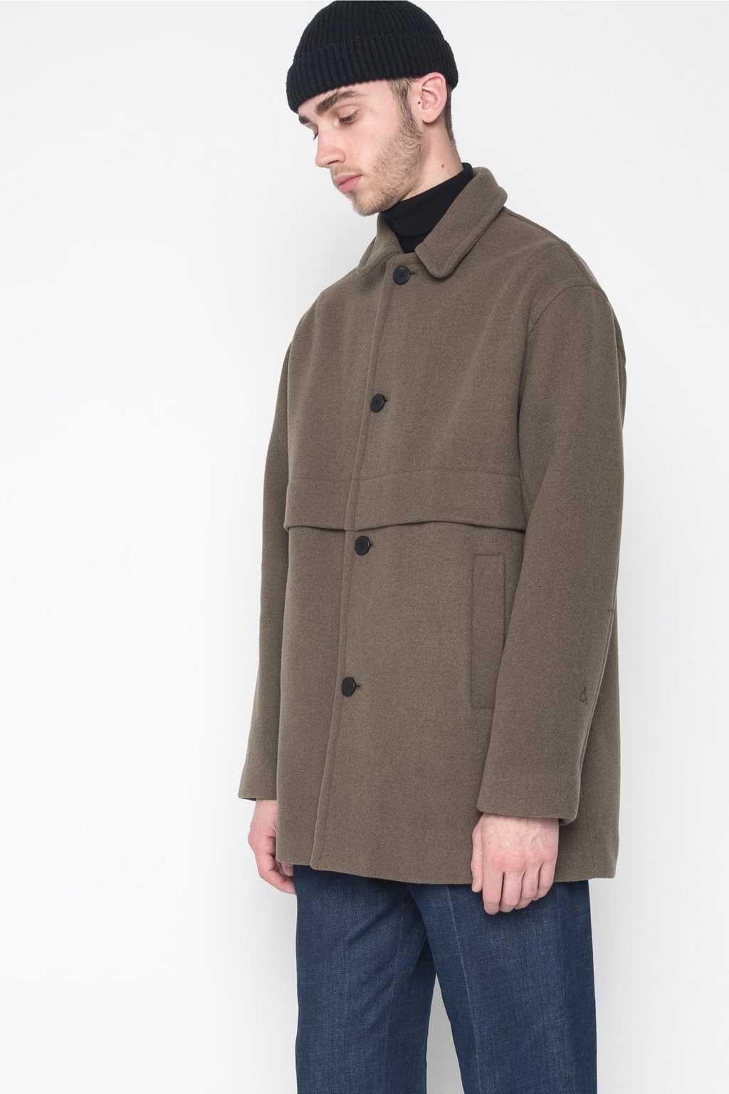 Coat 4134 Olive 2