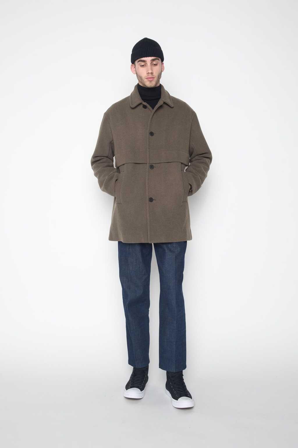 Coat 4134 Olive 3