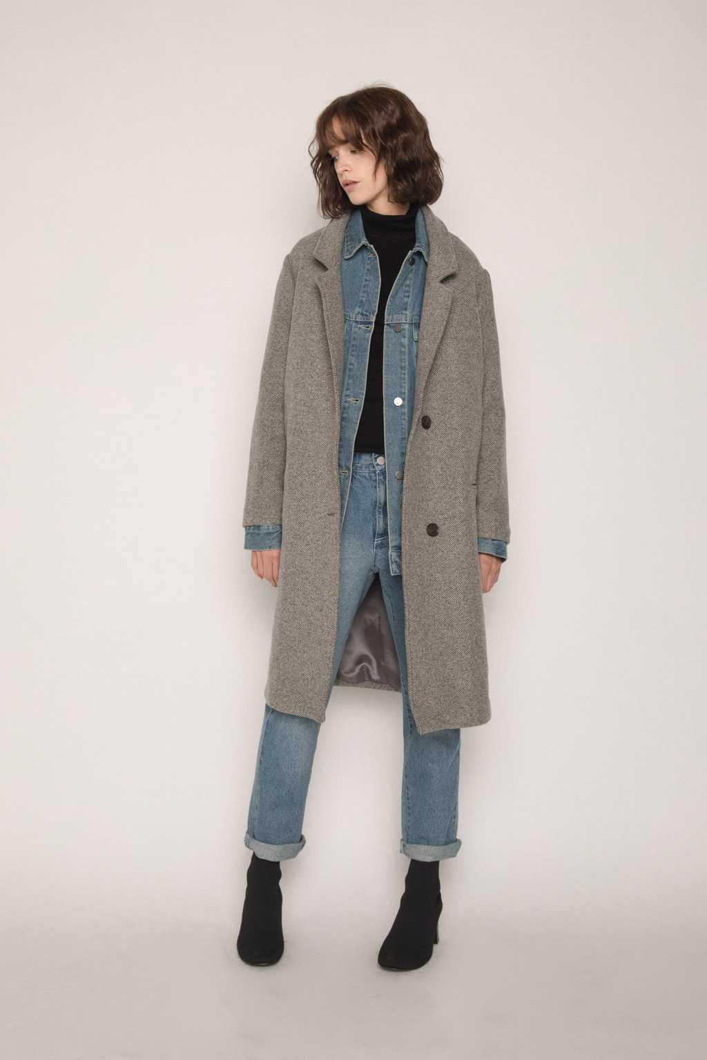 Coat G031 Beige 3