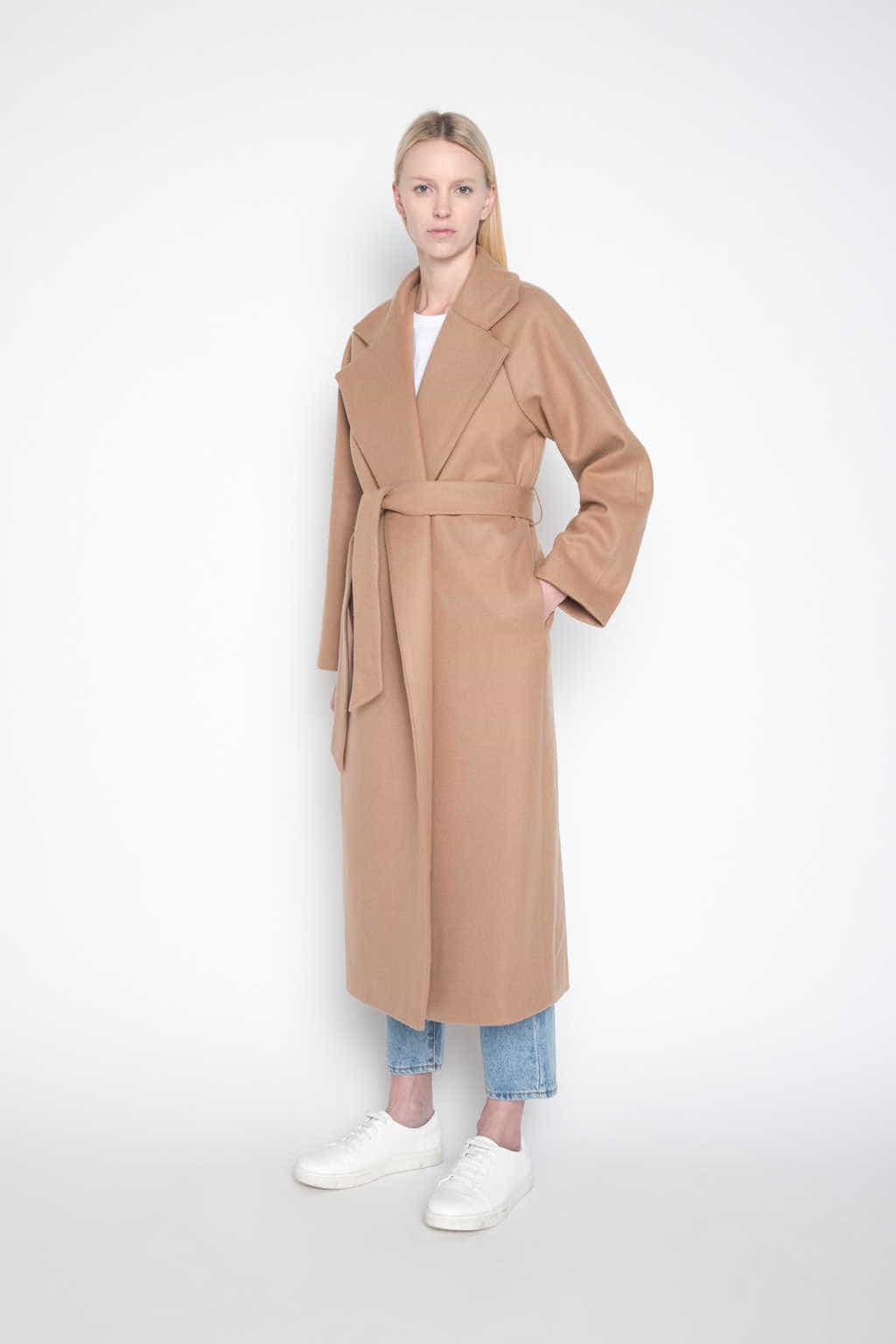 Coat H001 Beige 3