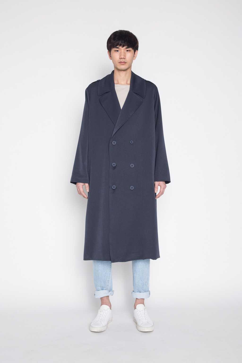 Coat H002 Navy 1