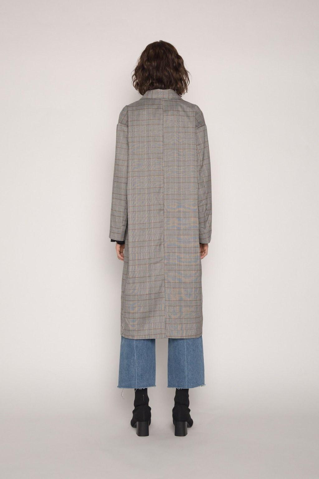 Coat H036 Gray 4