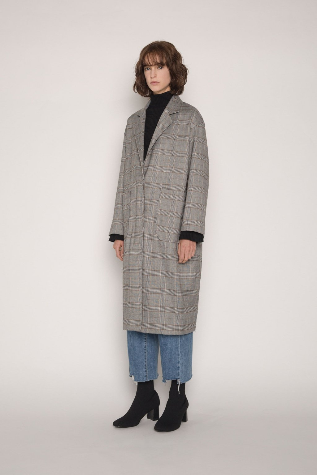 Coat H036 Gray 6