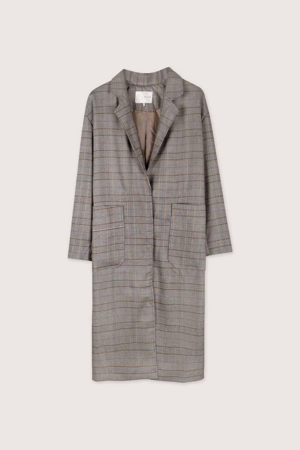 Coat H036 Gray 8