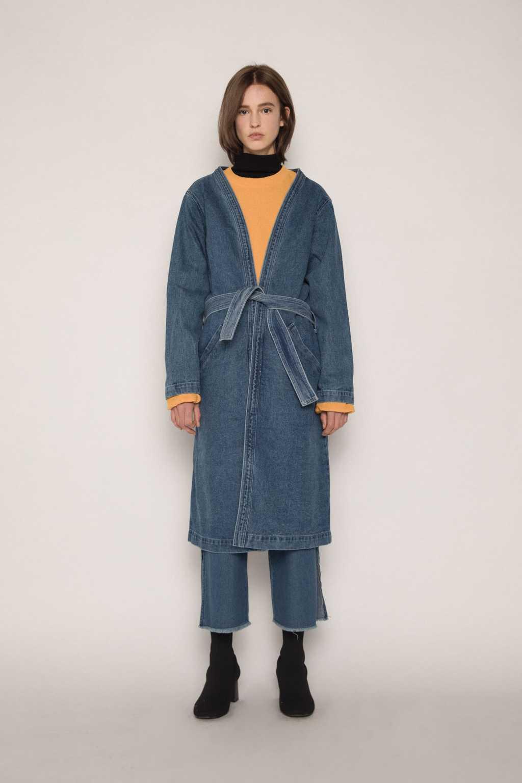 Coat H043 Indigo 1