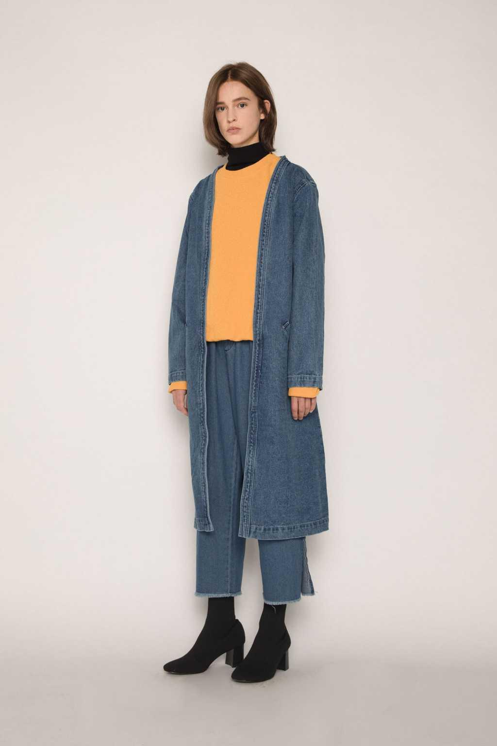 Coat H043 Indigo 2