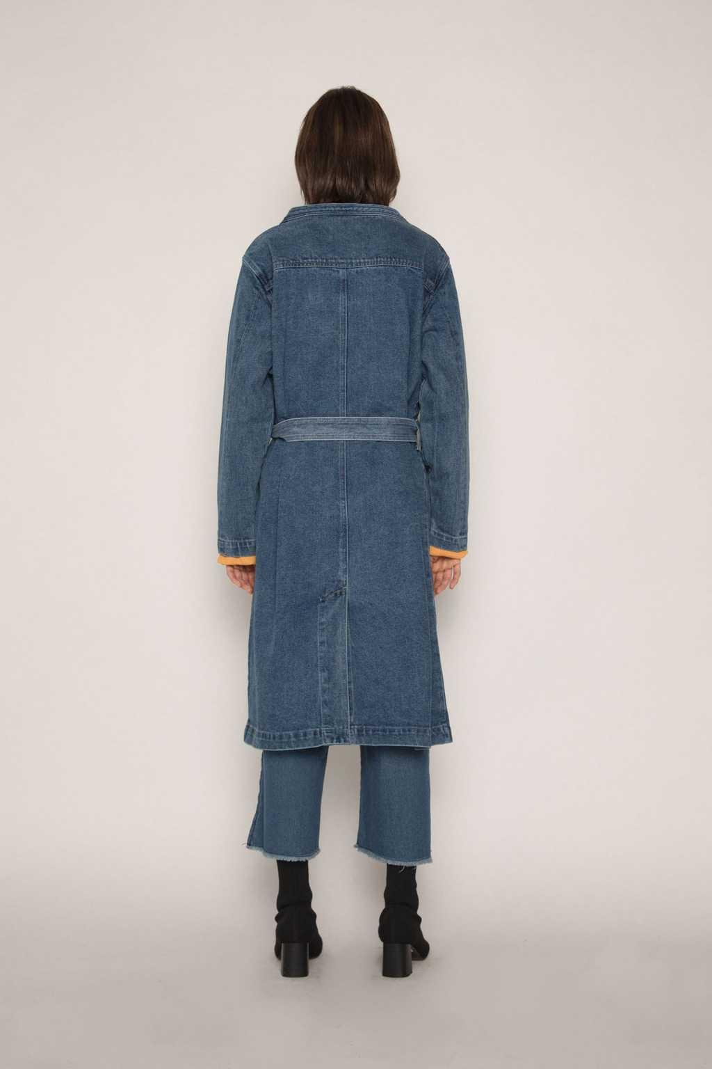 Coat H043 Indigo 4