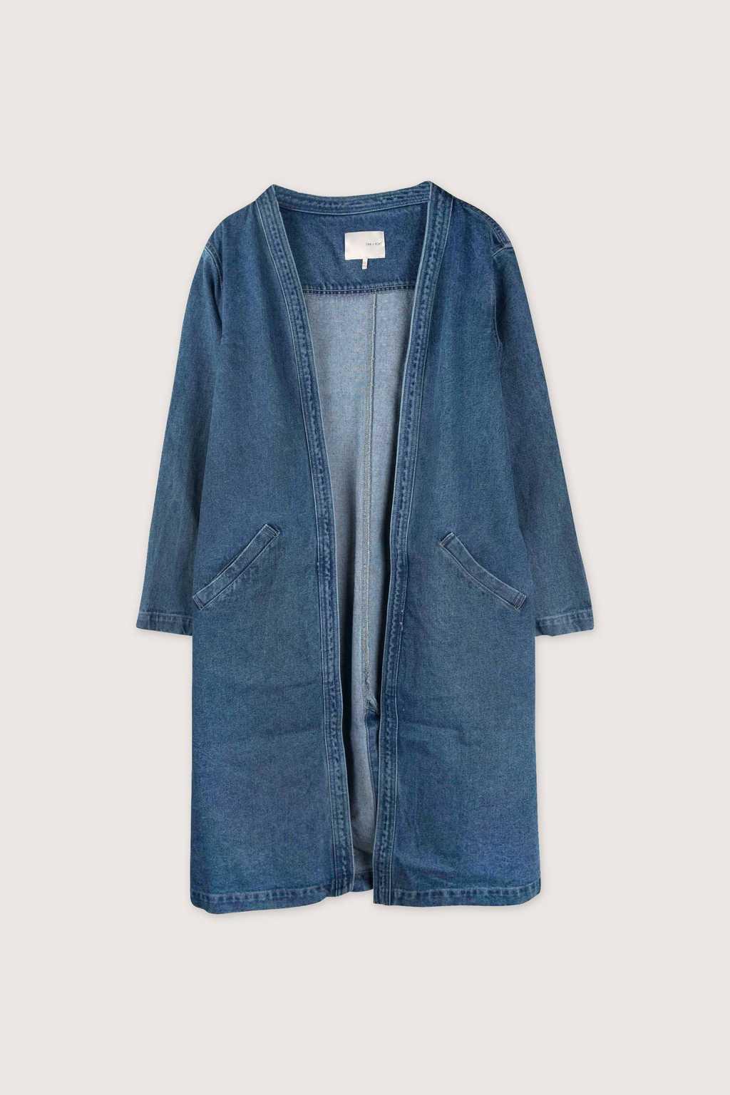Coat H043 Indigo 5