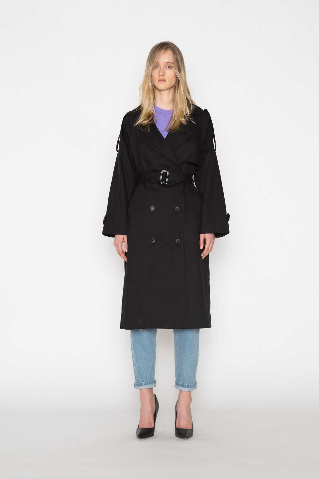 Coat H073 Black 1