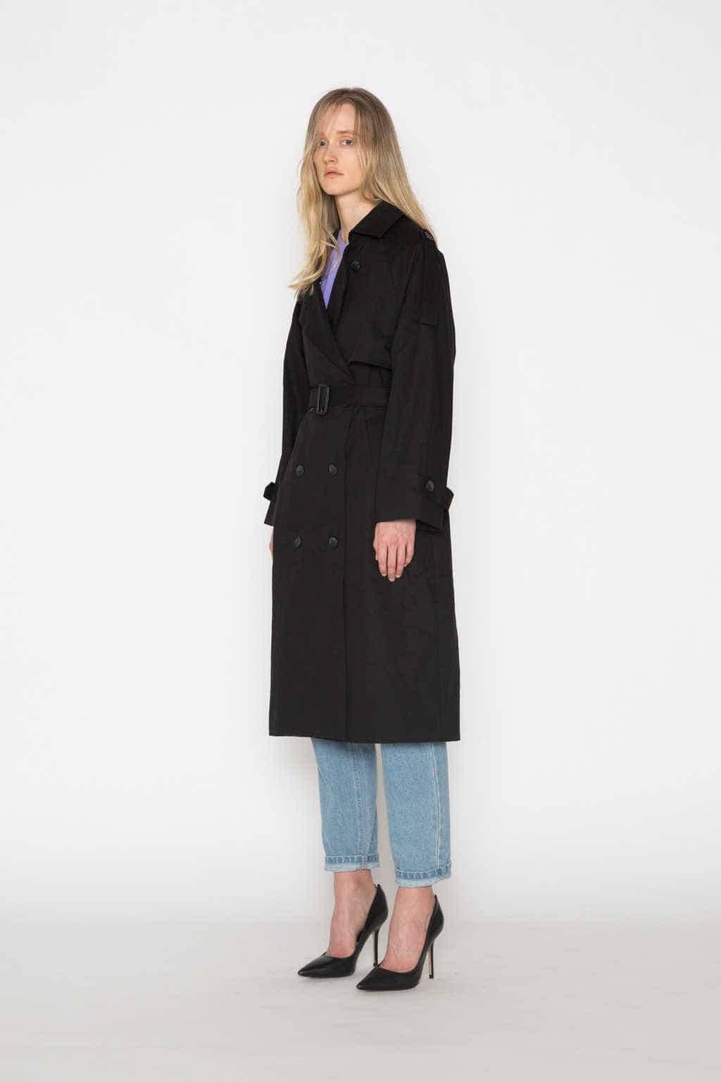 Coat H073 Black 2