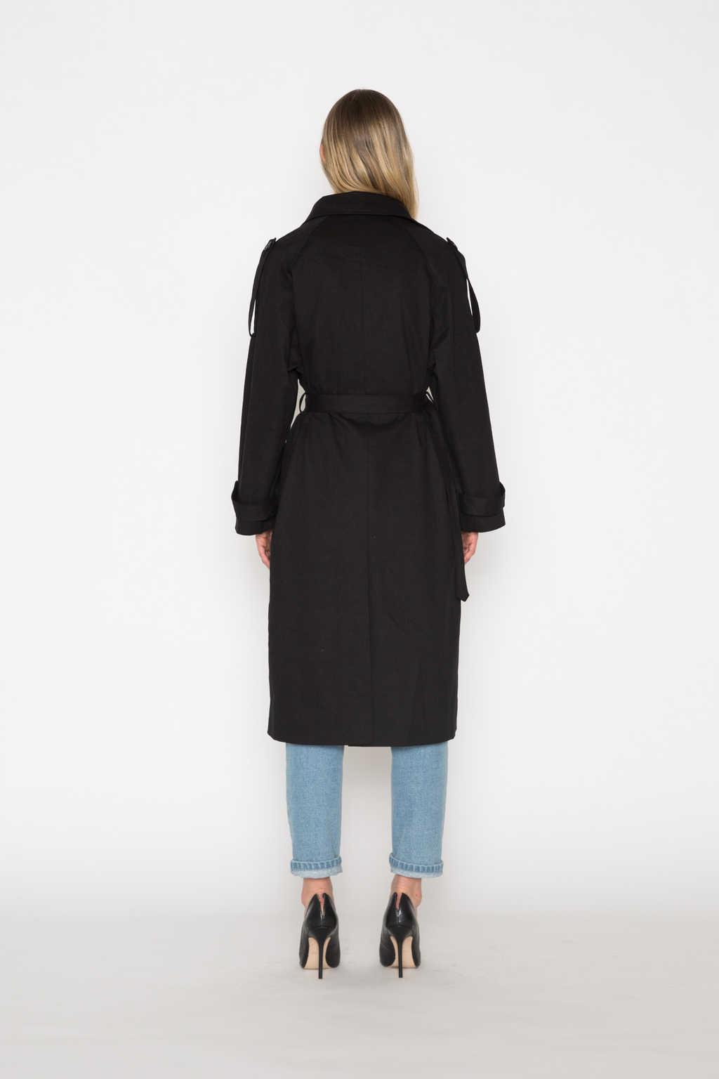Coat H073 Black 4