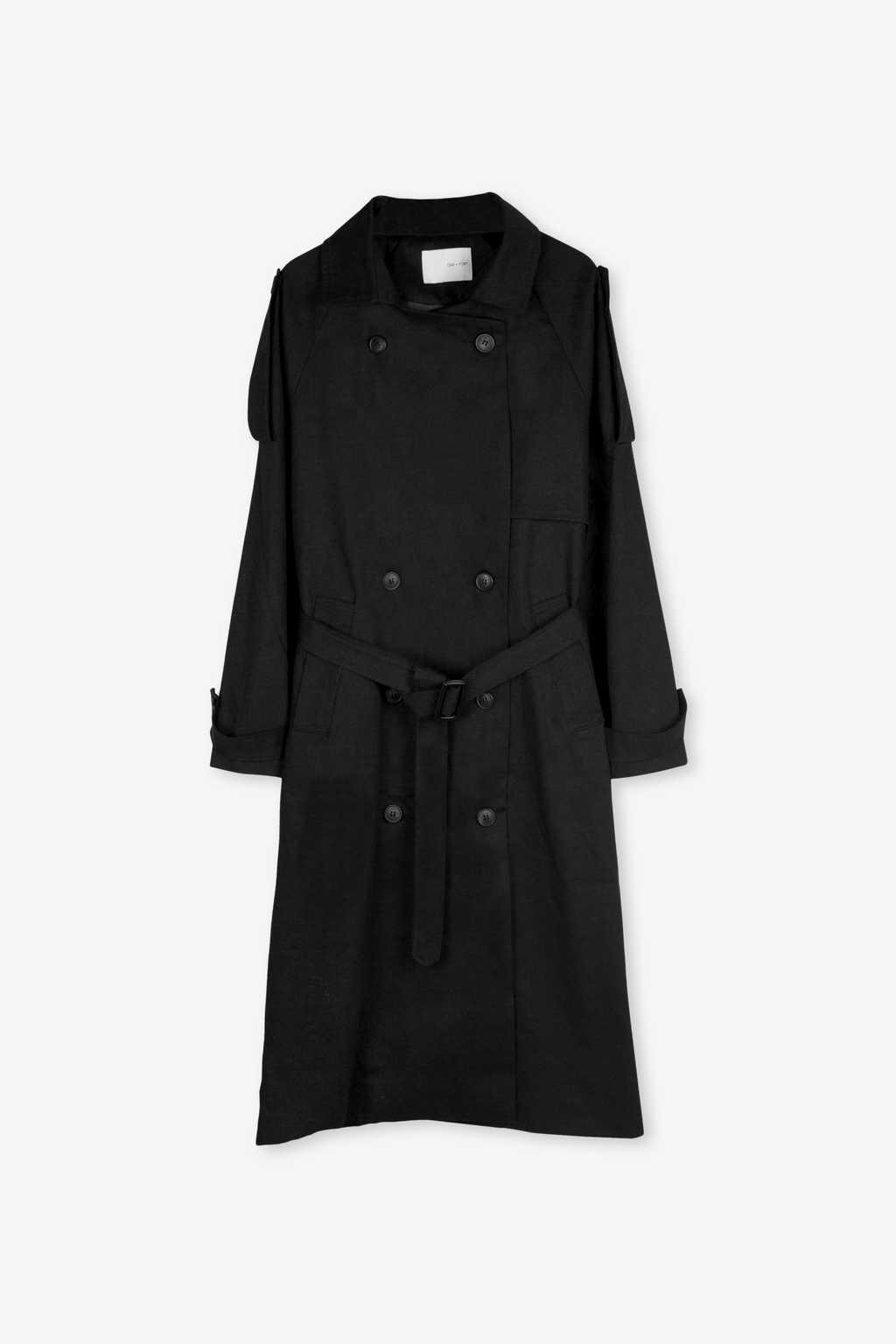 Coat H073 Black 5