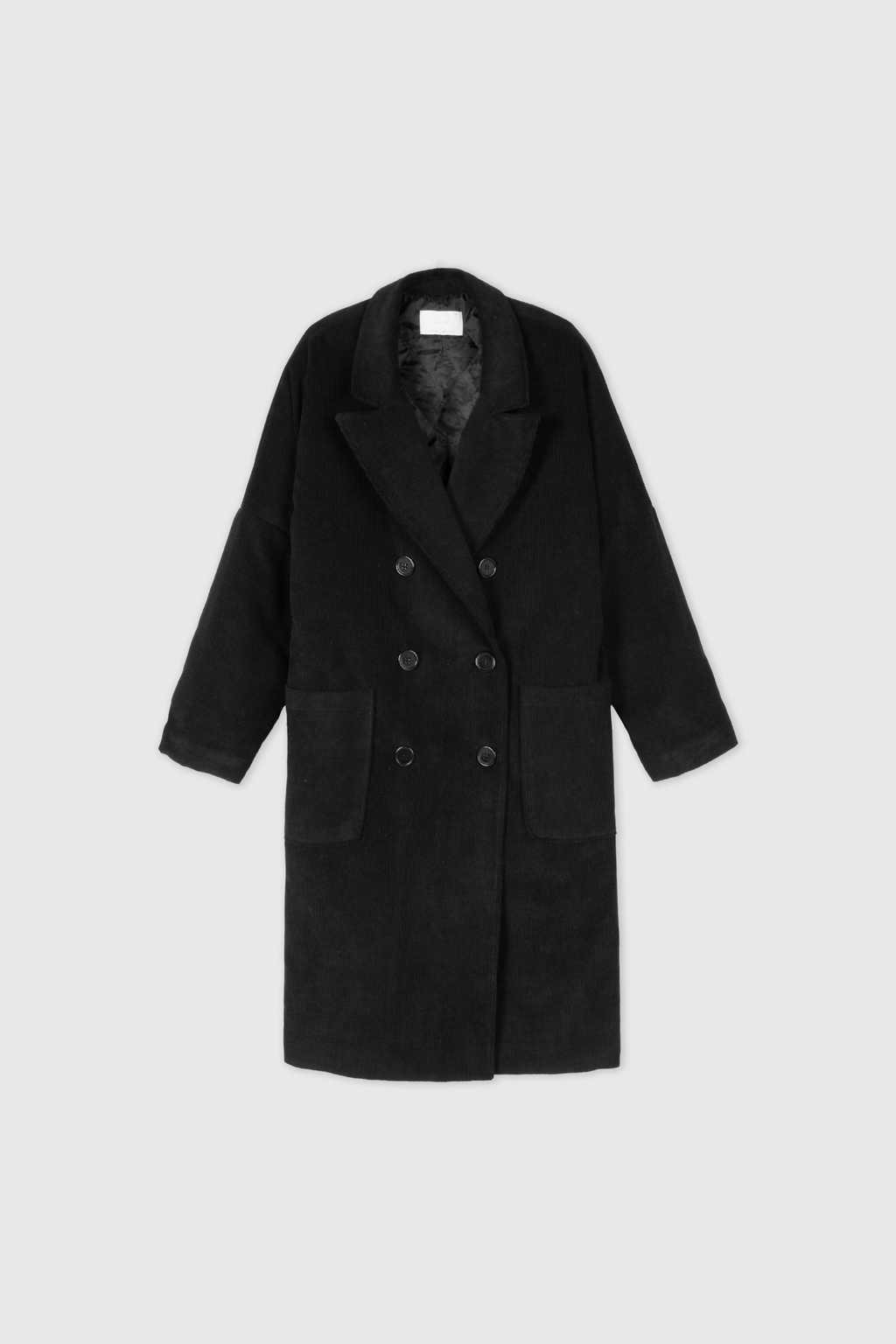 Coat J004 Black 8