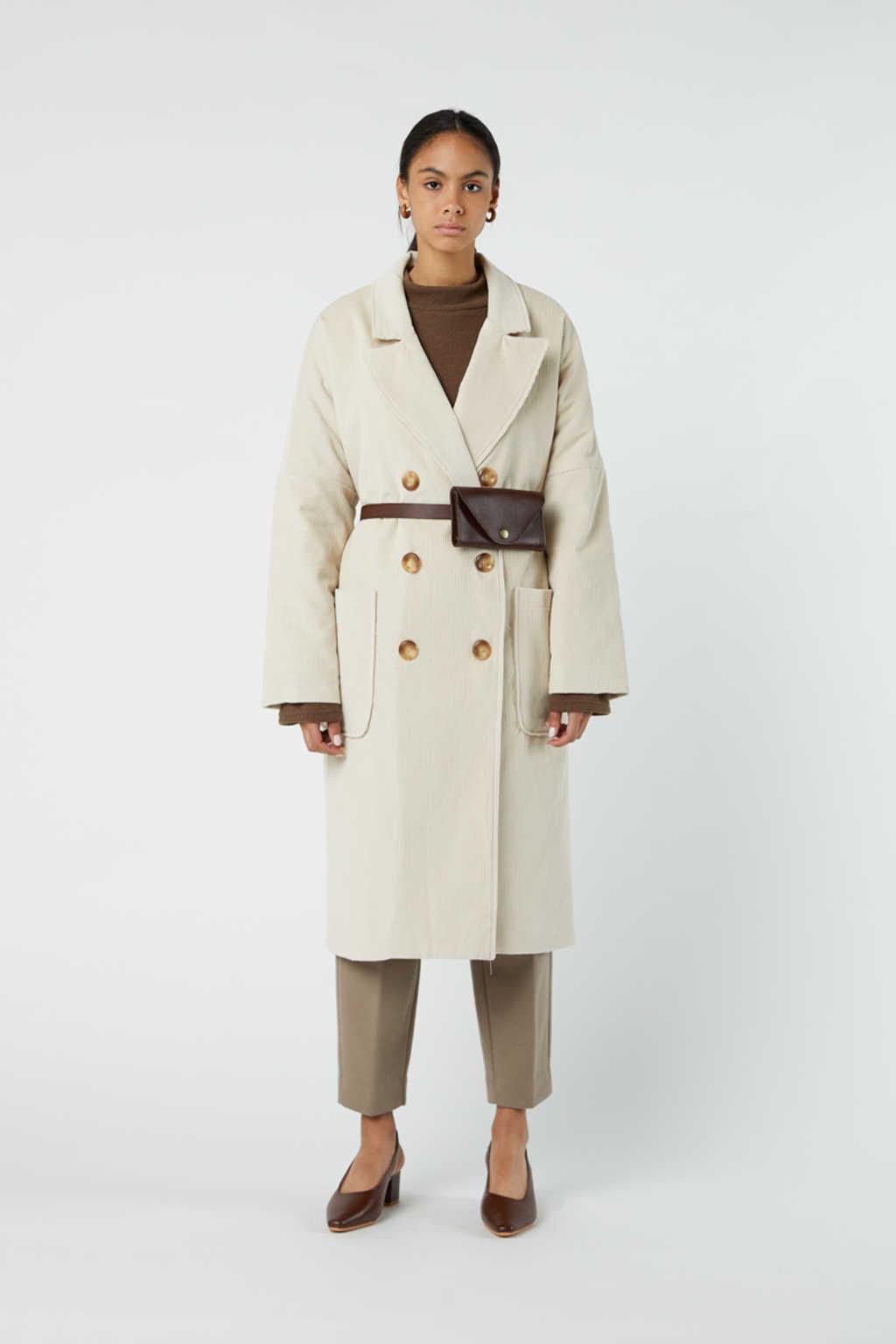 Coat J004 Cream 2