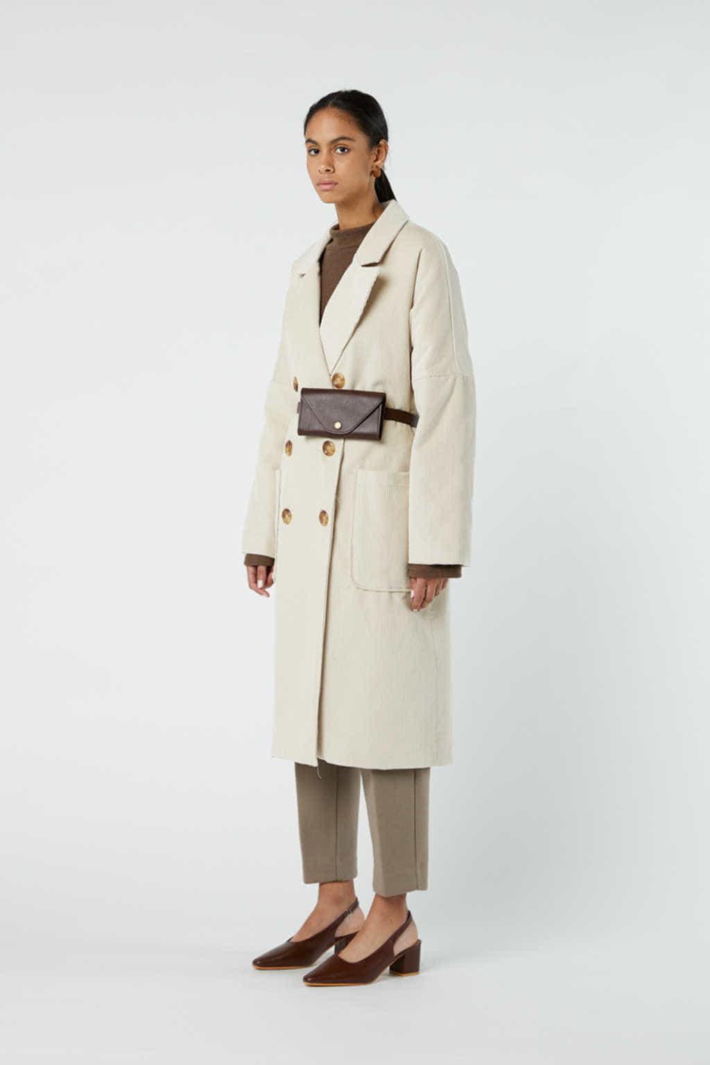 Coat J004 Cream 3