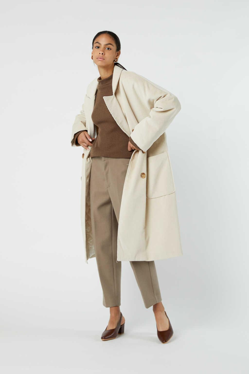 Coat J004 Cream 4