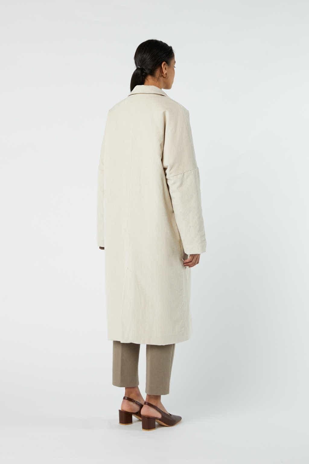 Coat J004 Cream 5