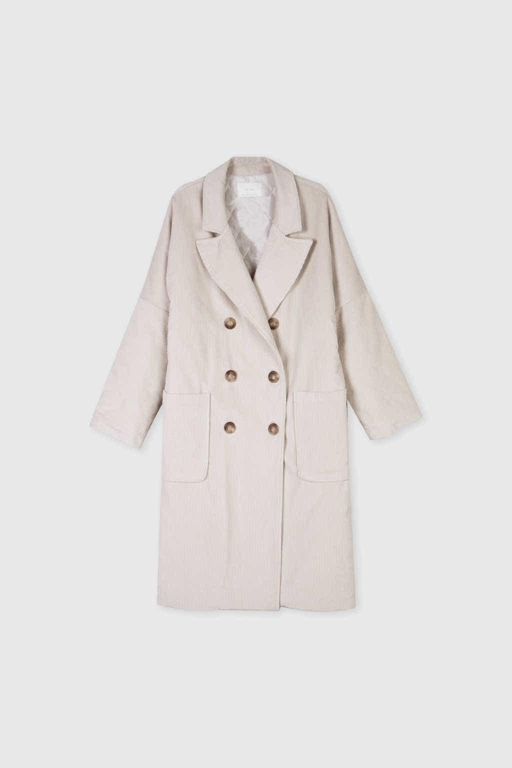 Coat J004 Cream 7