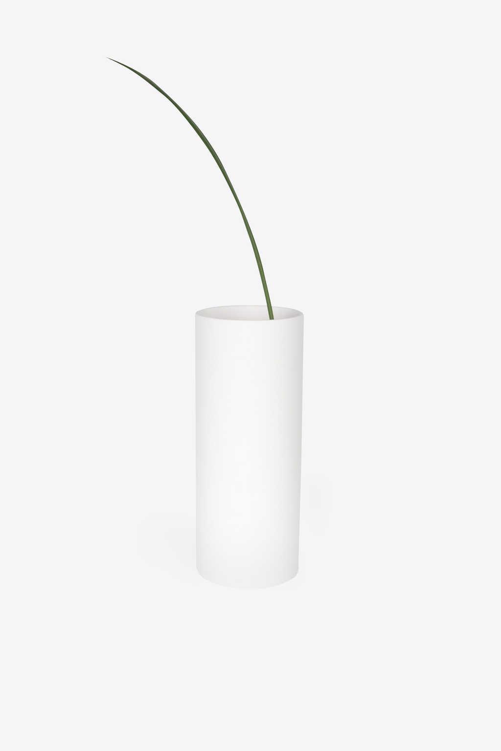 Cylinder Vase 1864 White 3