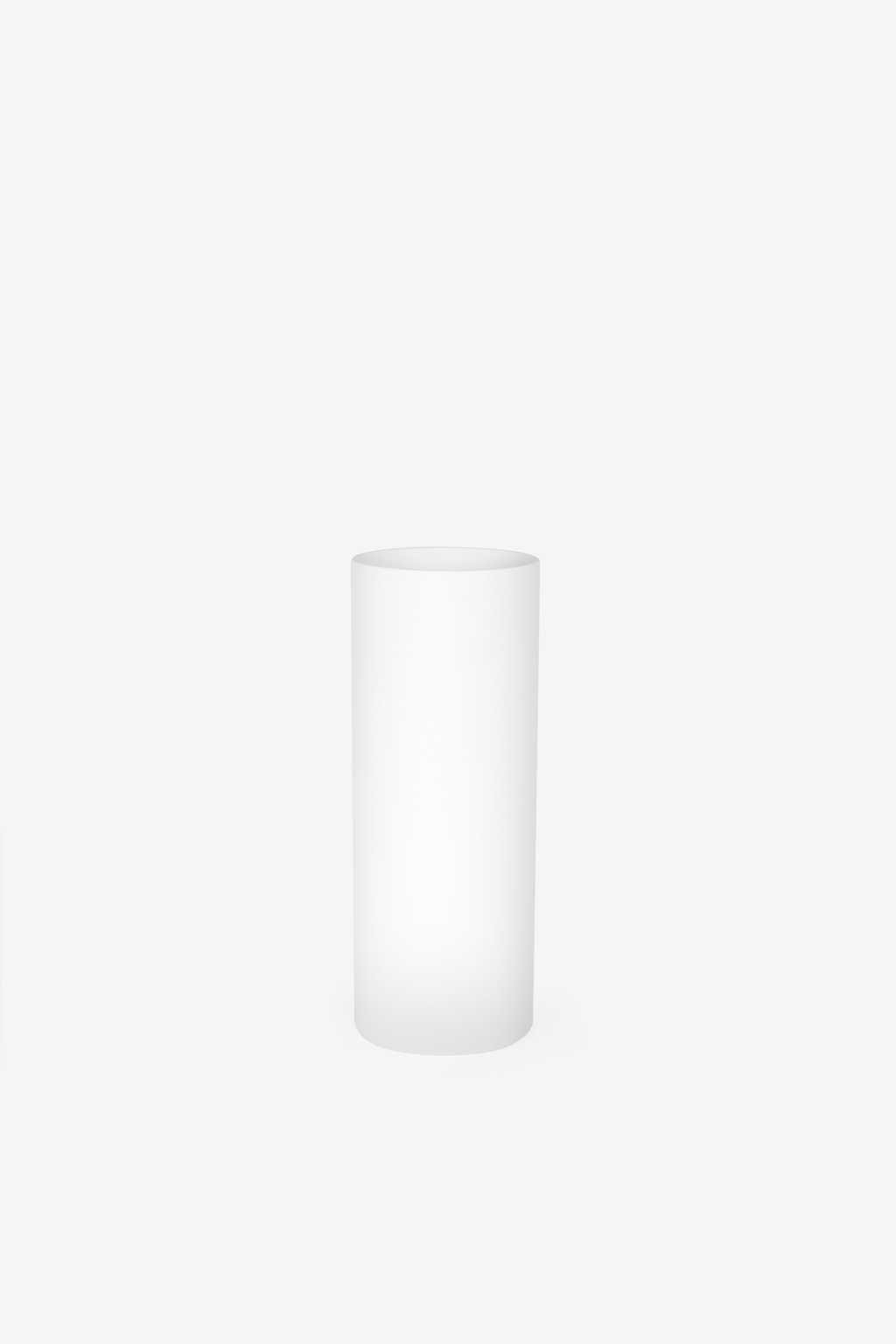 Cylinder Vase 1864 White 4