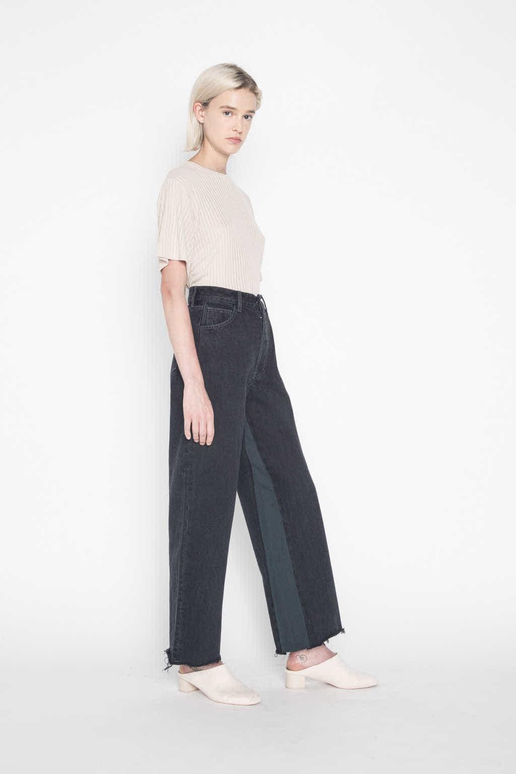 Dark Jean H011 Black 1