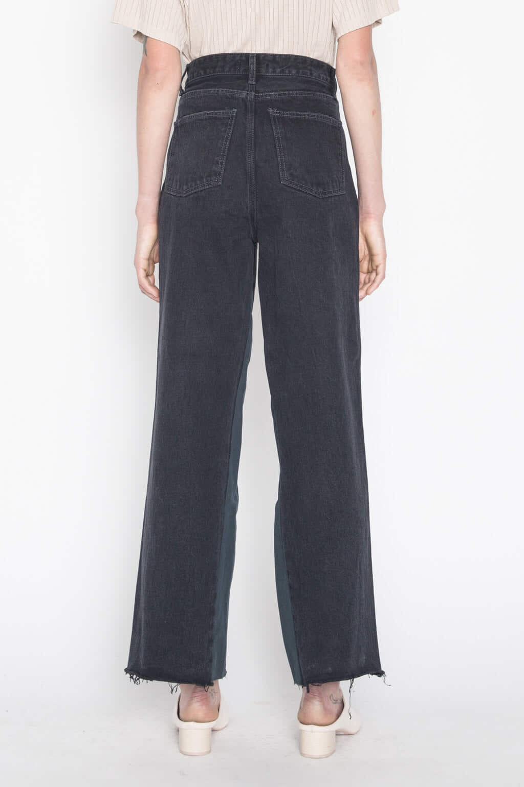 Dark Jean H011 Black 2