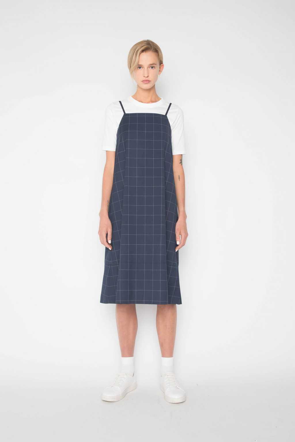 Dress 1385 Navy 2