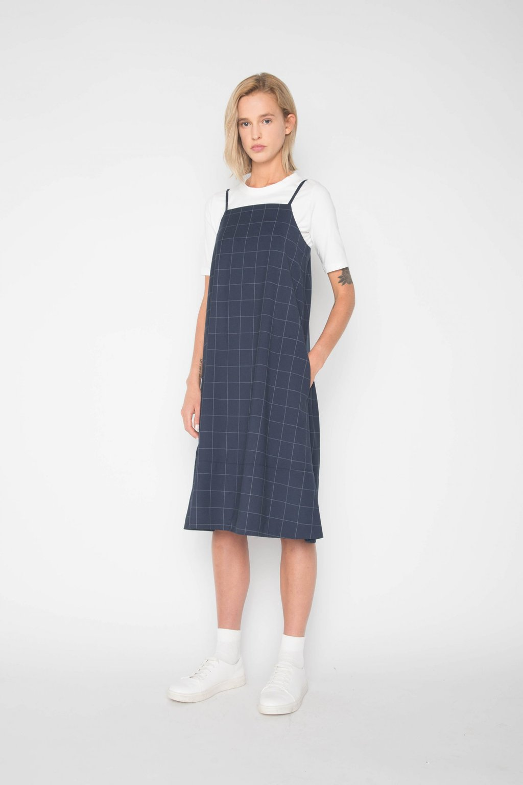 Dress 1385 Navy 3