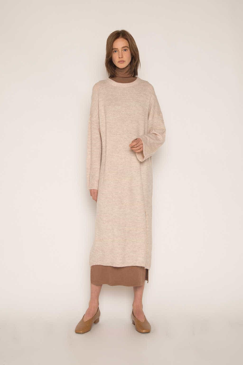 Dress 1648 Beige 1