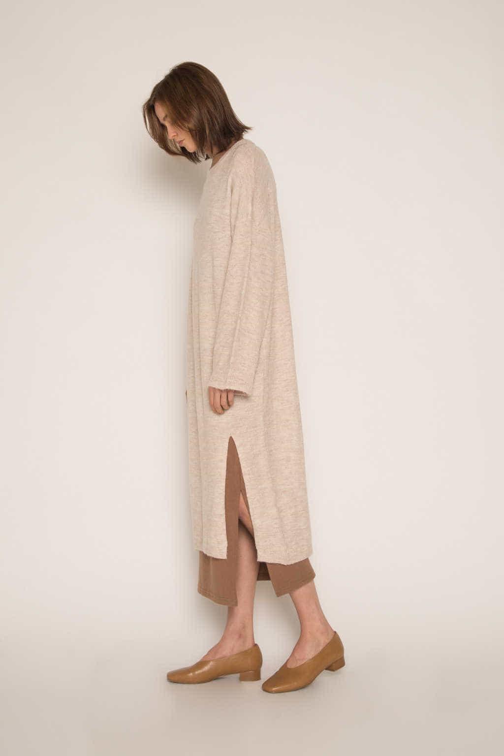 Dress 1648 Beige 3