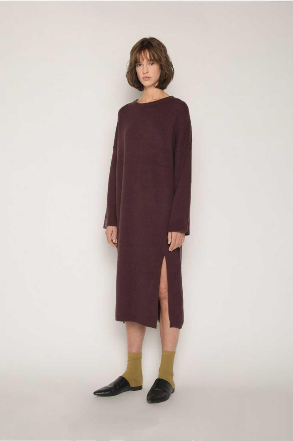 Dress 1648 Burgundy 5