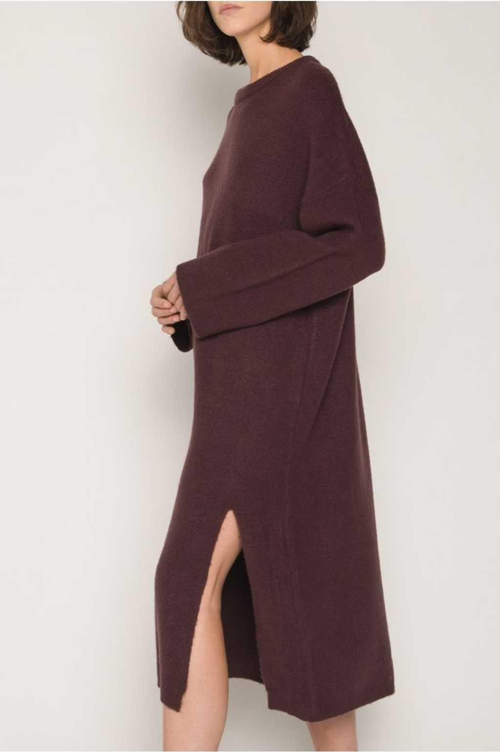 Dress 1648 Burgundy 6