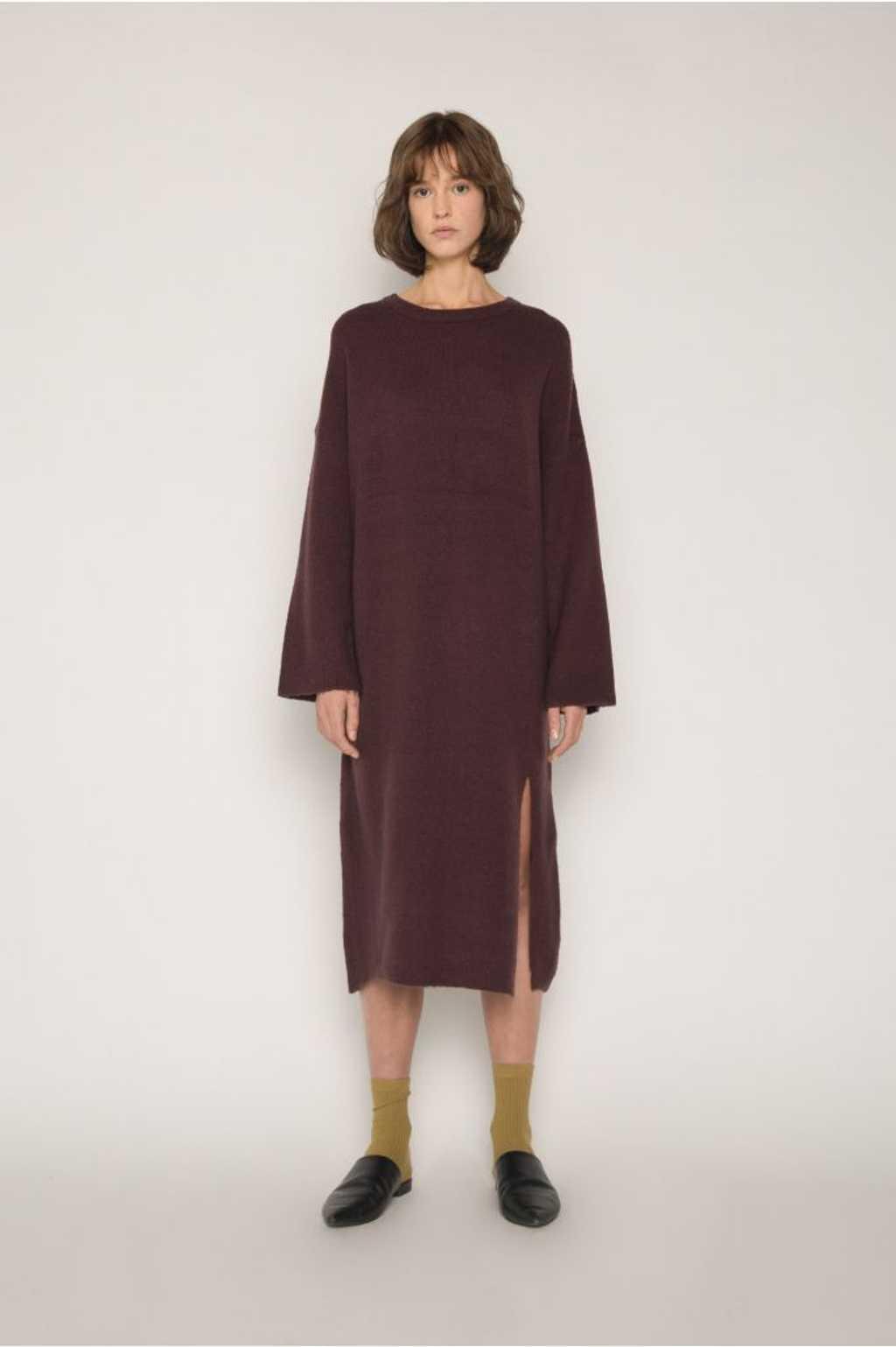 Dress 1648 Burgundy 7